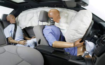 Los distintos tipos de airbag